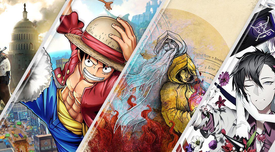 Diese Woche neu im PlayStation Store: Tom Clancy's The Division 2, One Piece World Seeker und mehr