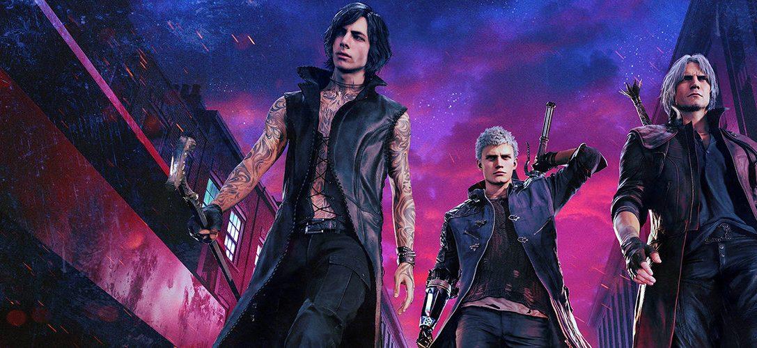 Alter Dante, neue Tricks: Capcom spricht über Devil May Cry 5, erscheint heute auf PS4