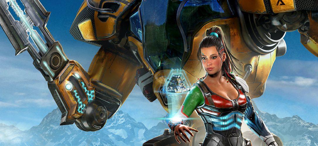 Hack'n'Slash trifft auf Basisbau – in Riftbreaker, das bald auf PS4 erscheint