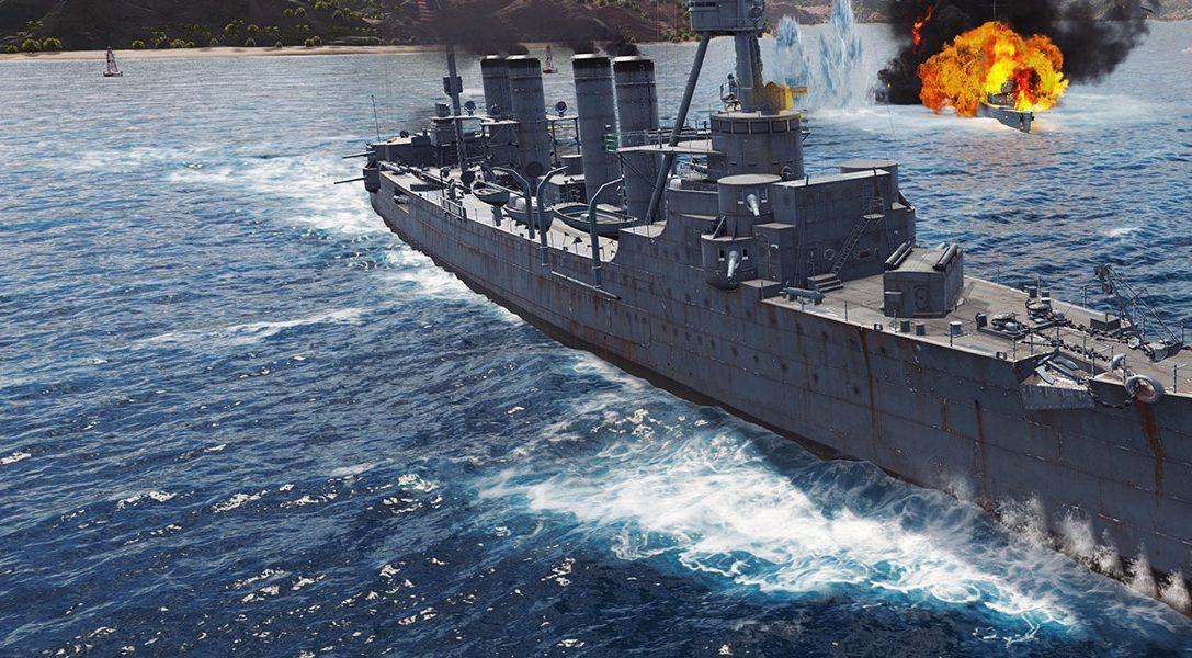 Euer Leitfaden für die historische Simulation World of Warships: Legends, die heute für PS4 erscheint