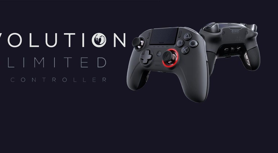 Alles im Griff mit den zwei neuen lizenzierten PS4-Controllern von Nacon