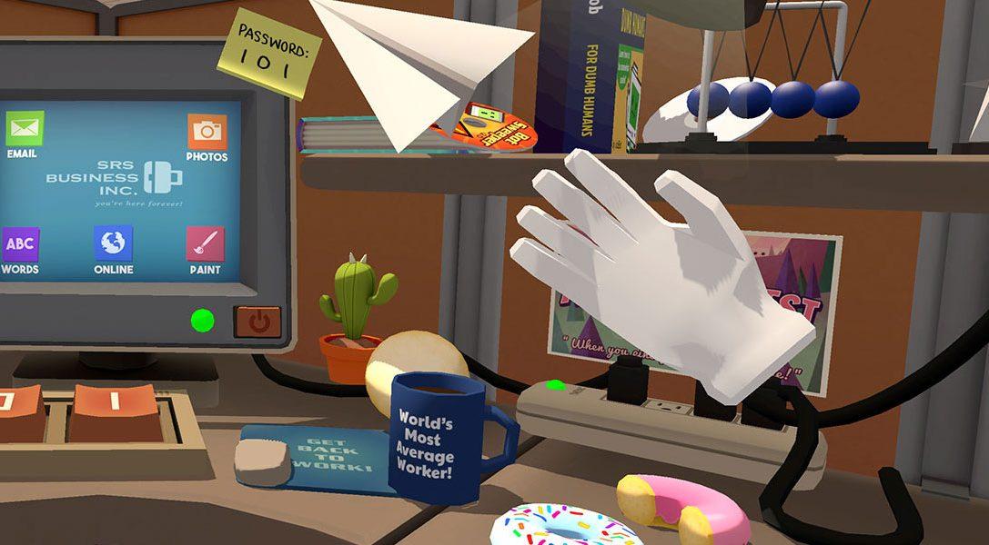 Spaß bei der Arbeit mit PlayStation VR