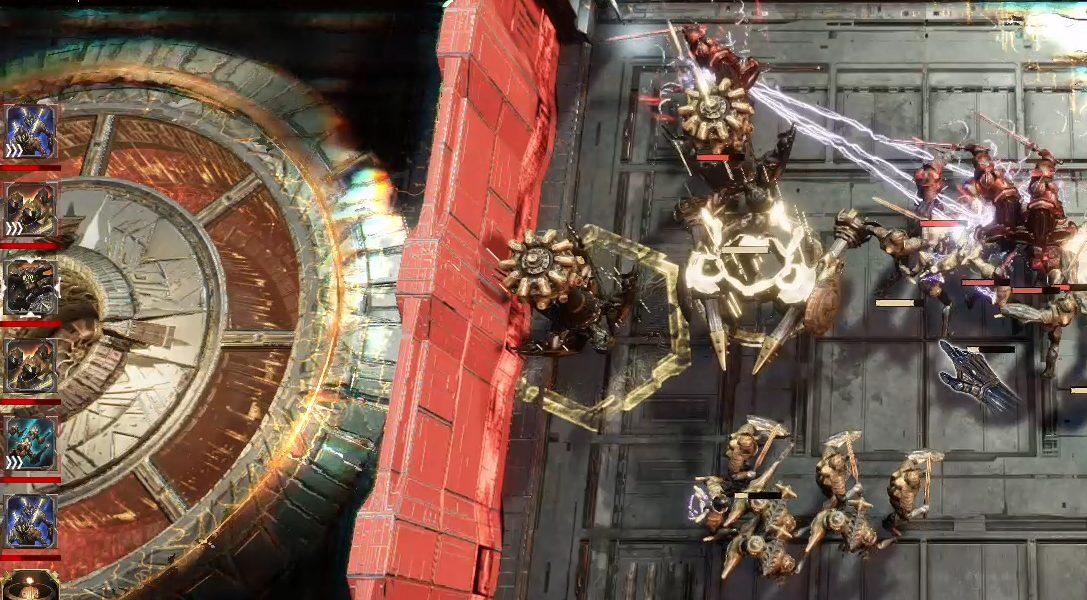 Golem Gates verbindet Action-Strategie und Deckbau, erscheint am 28. Mai auf PS4