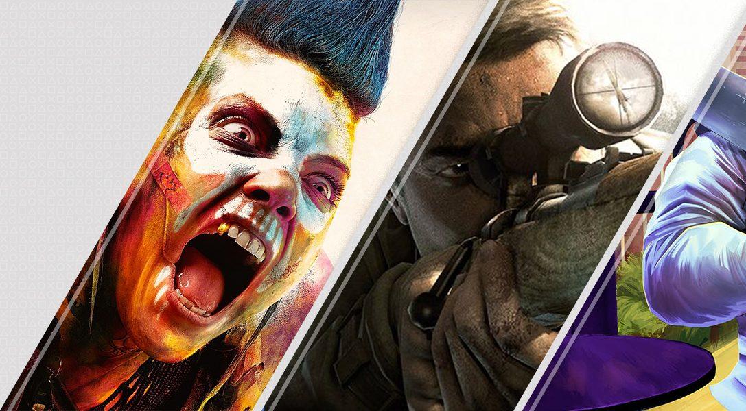 Diese Woche neu im PlayStation Store: Rage 2, Sniper Elite V2 Remastered, A Plague Tale: Innocence und mehr