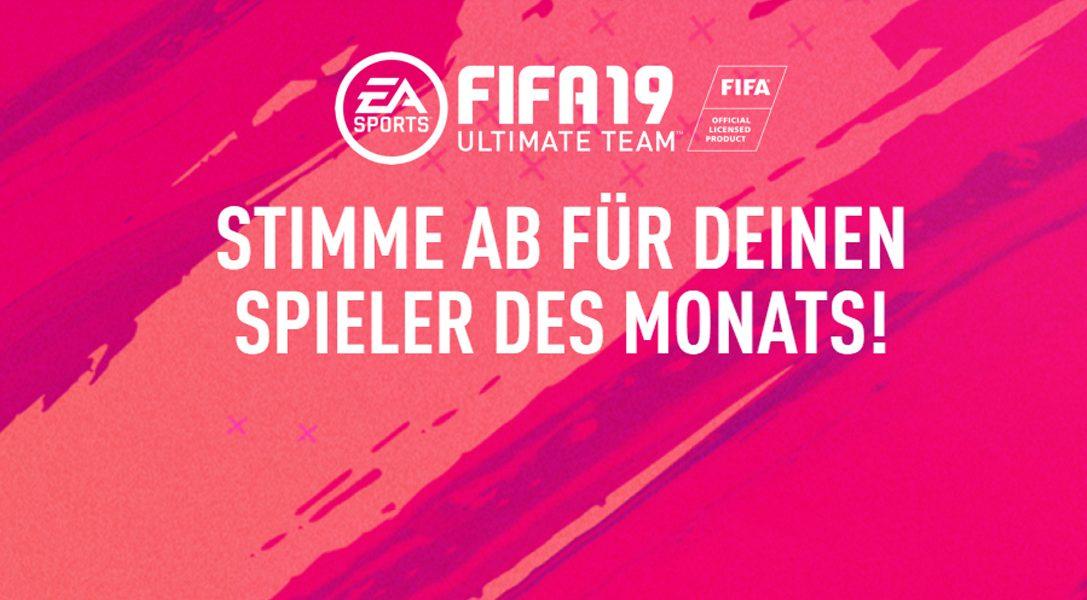 FIFA 19 Spieler des Monats – April-Voting