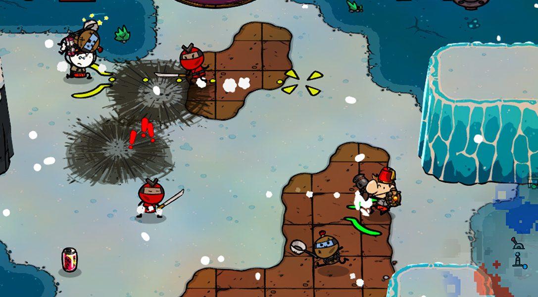 Esst euch euren Weg zum Sieg im Comedy-Action-RPG Super Cane Magic ZERO, erscheint am 30. Mai auf PS4
