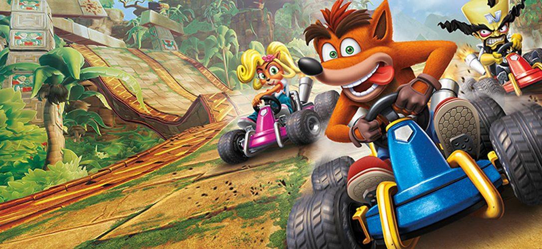 Erhascht einen ersten Blick auf die exklusiv für PlayStation veröffentlichte Strecke von Crash Team Racing: Nitro-Fueled