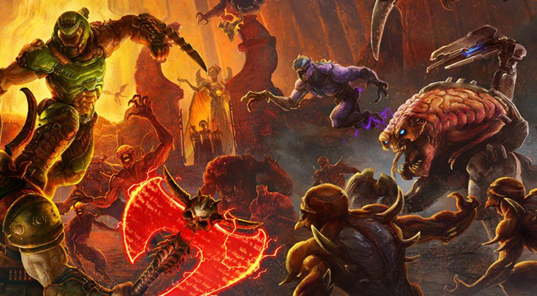 Schaut euch den neuen Gameplay-Trailer von Doom Eternal an