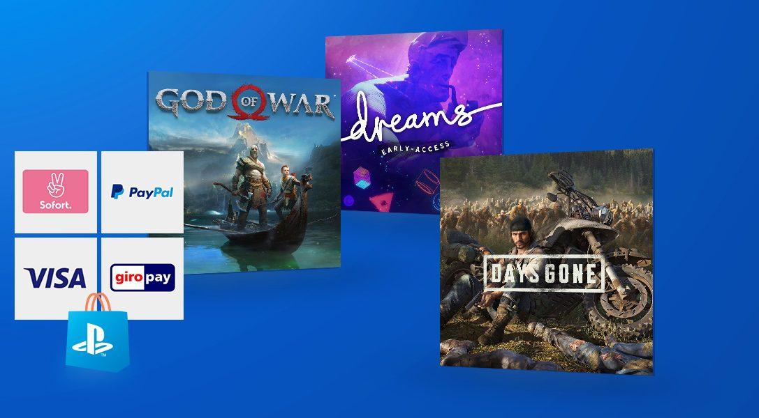 So könnt ihr ohne Kreditkarte im PlayStation Store bezahlen
