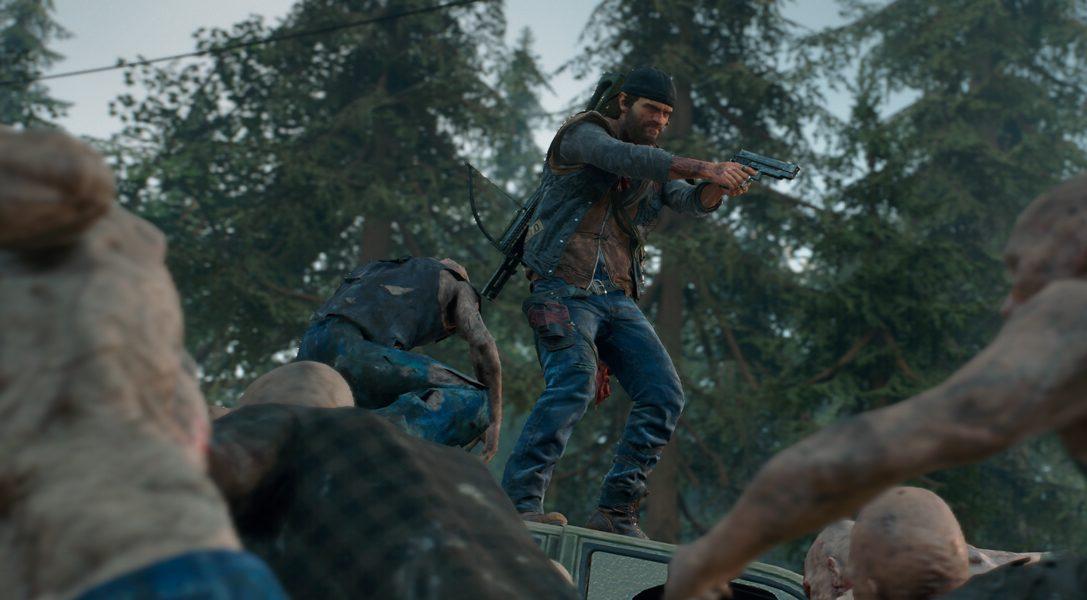 Die neuen DLC-Herausforderungen von Days Gone schicken euch in den Überlebenskampf gegen eine endlose Horde Freaker