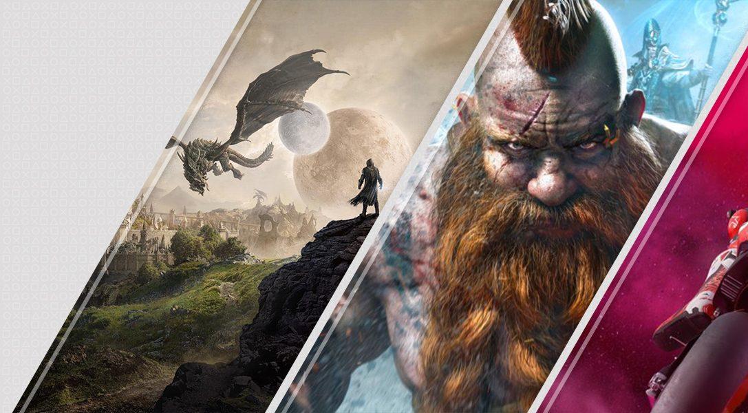 Diese Woche neu im PlayStation Store: The Elder Scrolls Online: Elsweyr, Warhammer: Chaosbane, MotoGP 19 und mehr