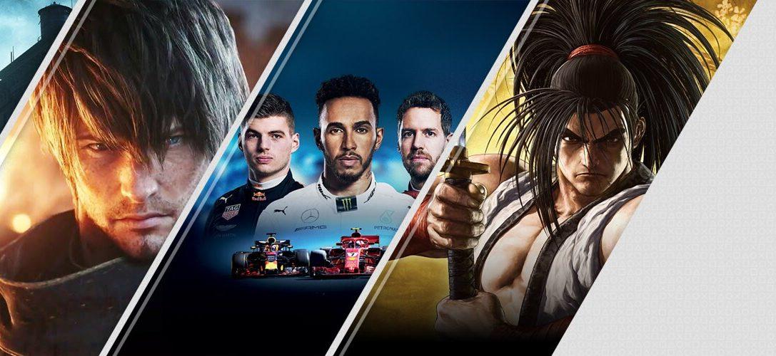 Diese Woche neu im PlayStation Store: The Sinking City, Final Fantasy XIV: Shadowbringers, F1 2019 und mehr