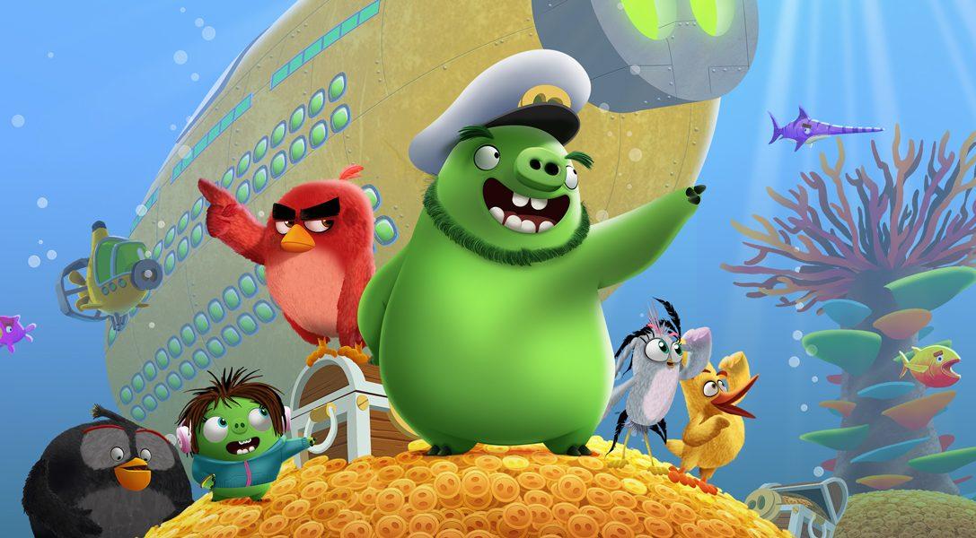 The Angry Birds Movie 2 VR: Under Pressure ist ein Koop-Spielerlebnis für Zuhause
