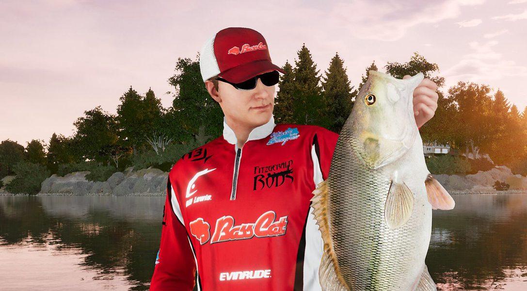 Fishing Sim World: Pro Tour hat euch garantiert am Haken, erscheint heute auf PS4