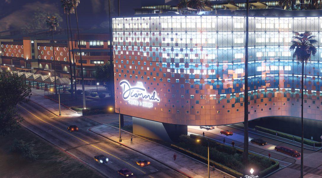 Die große Eröffnung des Diamond Casino & Resort – 23. Juli