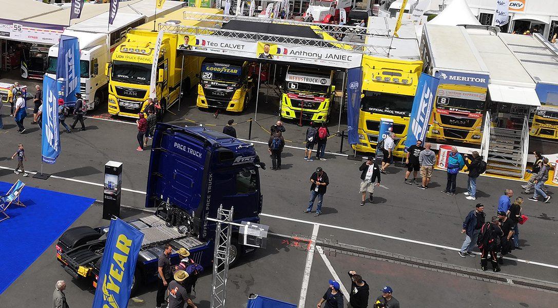 FIA European Truck Racing Championship – Mit dem 5-Tonner auf der Piste!