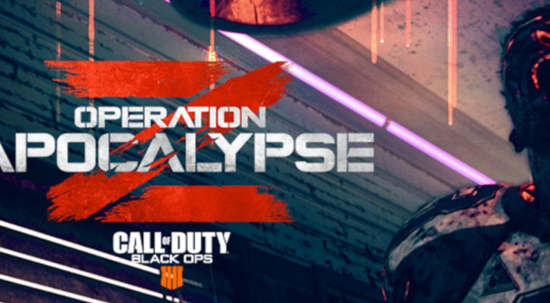 Call of Duty: Black Ops 4 – Operation Apocalypse Z für PS4 startet am 9. Juli