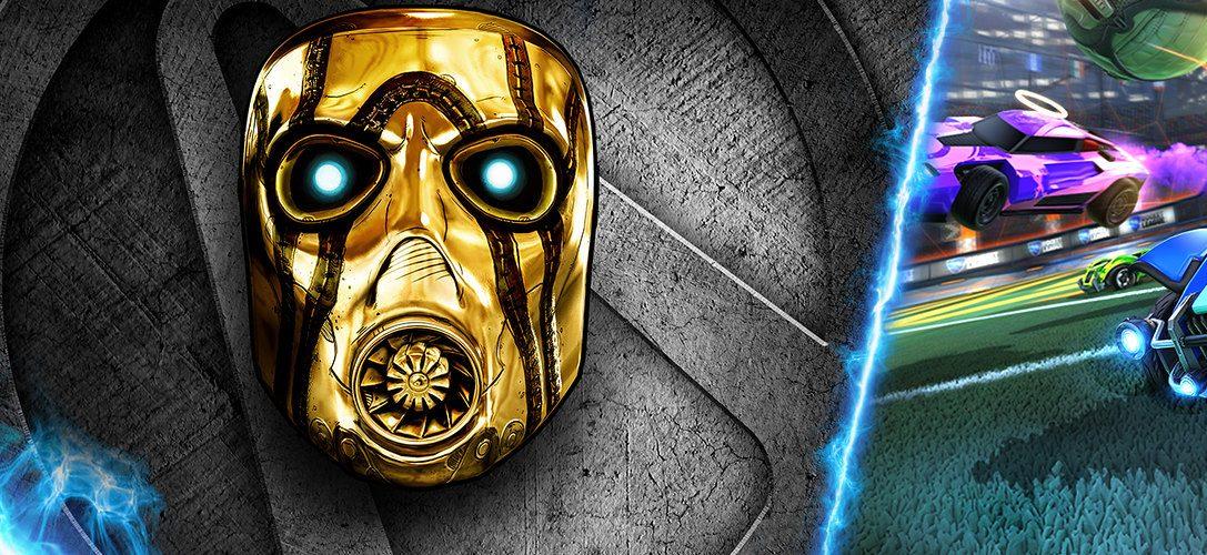 Rocket League und Borderlands: The Handsome Collection sind die Haupttitel des Juli-Updates für PS Now