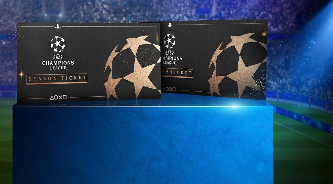 Gewinnt 2 Saisontickets für die UEFA Champions League mit dem riesigen PlayStation F.C.-Gewinnspiel