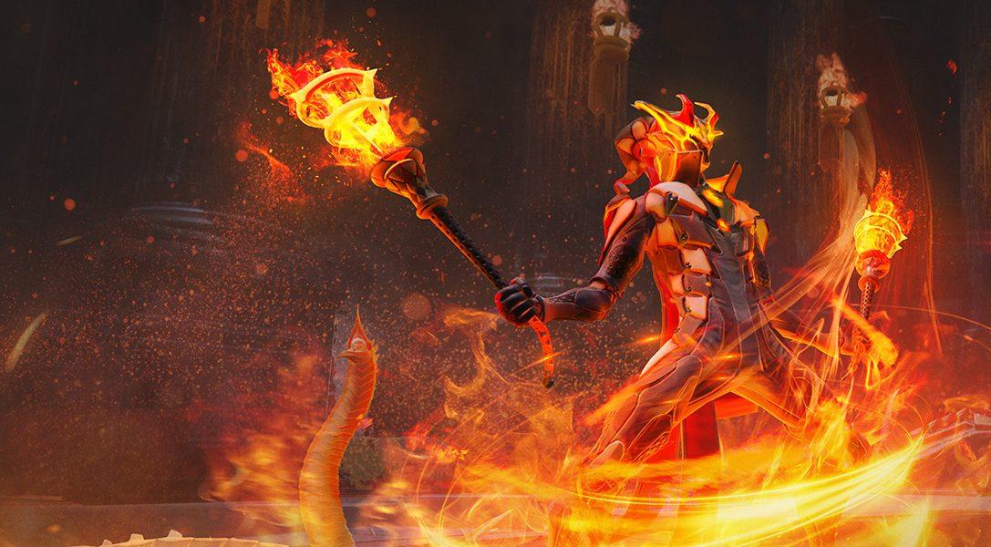 Entfacht die Welt mit dem neuen Skyforge-Update und der Firestarter-Klasse (Feuerkinder-Klasse), ab September für PS4