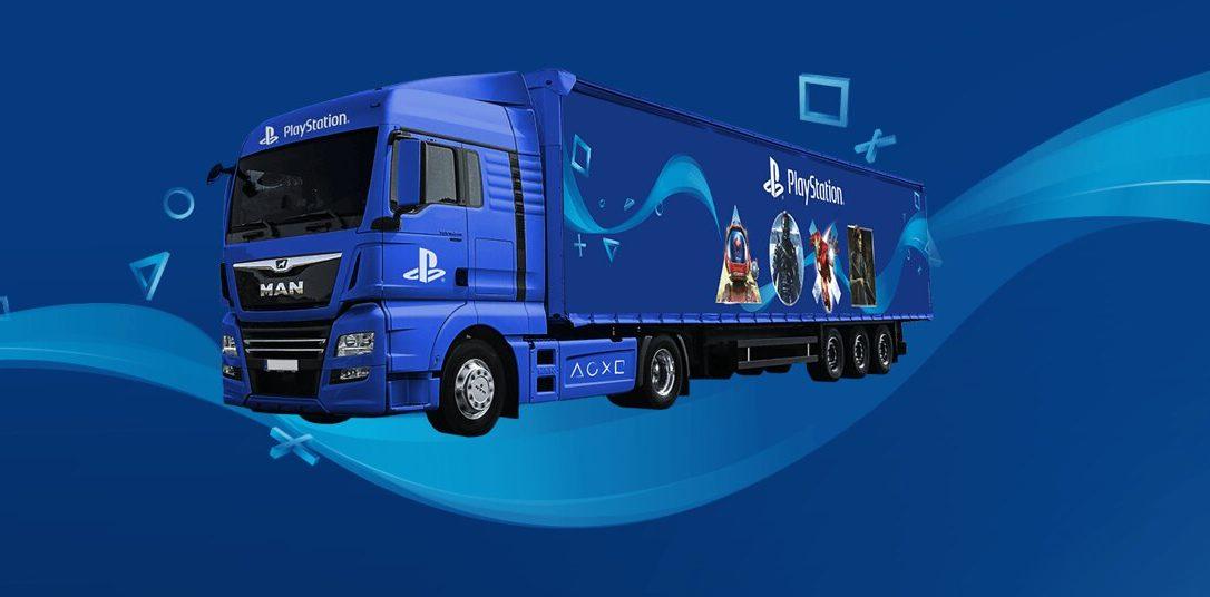Die PlayStation Truck-Tour 2019