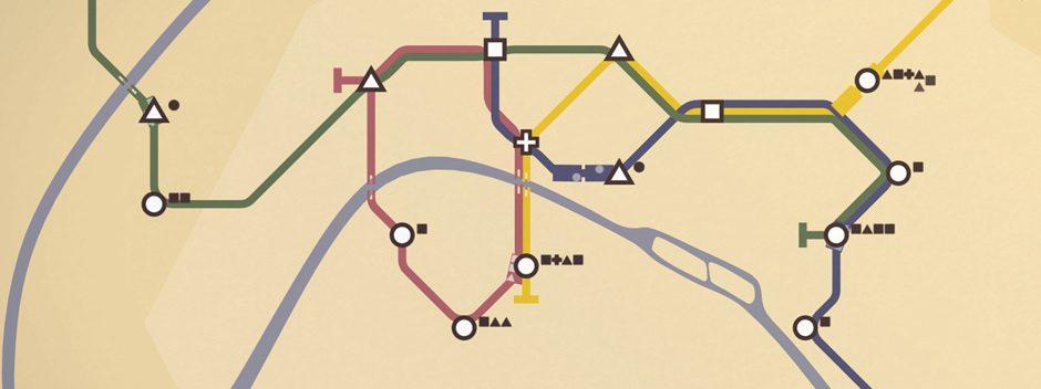 Der großartige U-Bahn-Simulator Mini Metro erscheint 10. September auf PS4