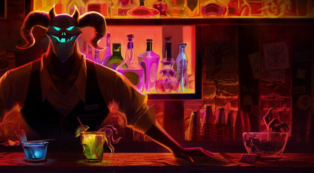Trinkt, um im witzigen Buddy-Adventure Afterparty dem Leben nach dem Tod zu entkommen
