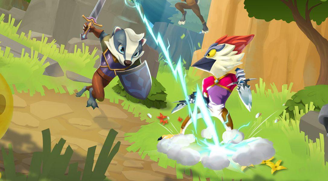 Fette Bosse und bizarre Minispiele erwarten euch im kompetitiven Dungeon-Crawler ReadySet Heroes