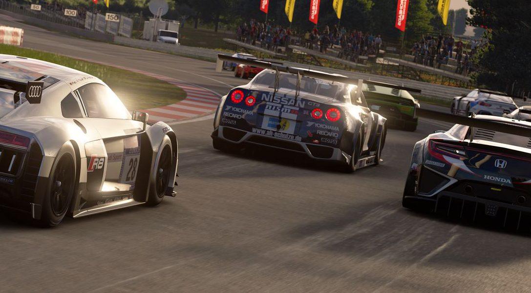 Die besten GT Sport-Fahrer treten im berühmten Hangar-7 gegeneinander an