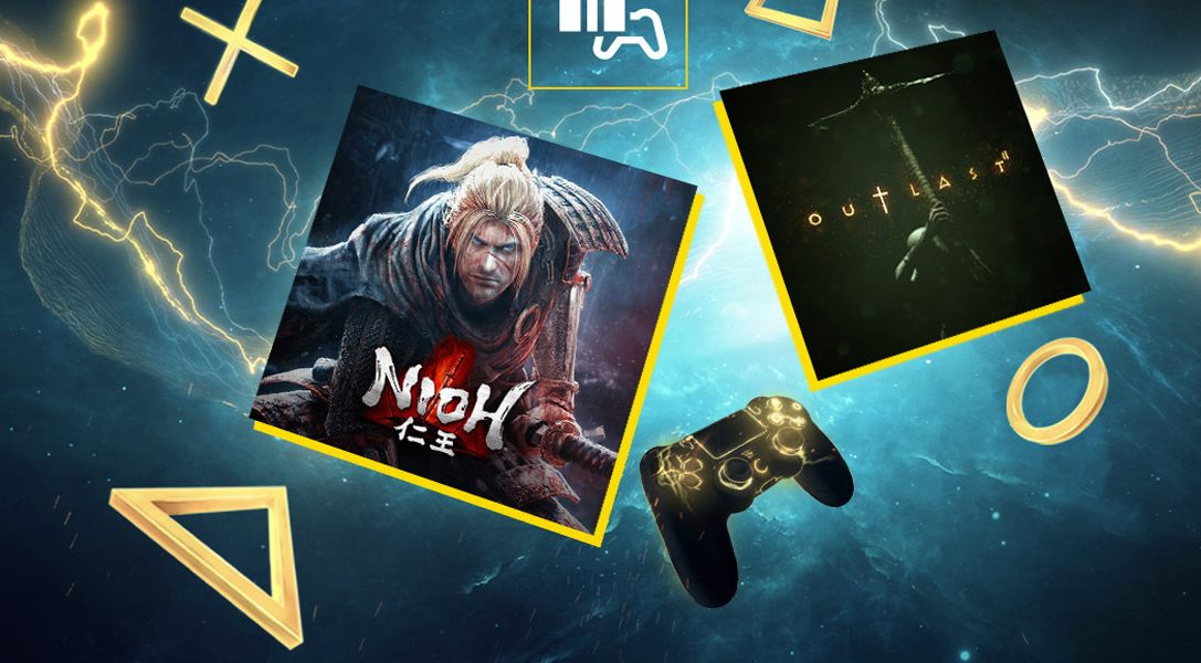 Nioh und Outlast2 sind die PlayStation Plus-Spiele für November