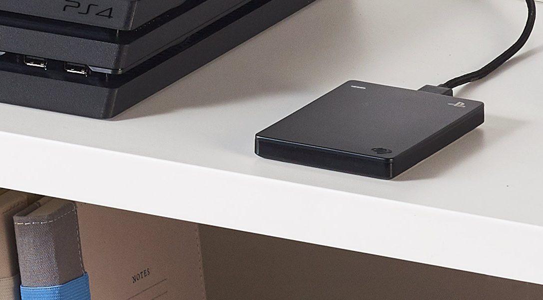 PS4-Festplatte von Seagate mit 2 TB ist ab heute in Europa erhältlich
