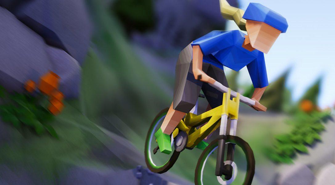 Der fordernde Mountainbiking-Racer Lonely Mountains: Downhill erscheint diesen Monat