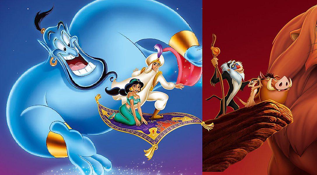 16-Bit-Klassiker erwachen zu neuem Leben in Disney Classic Games: Aladdin und König der Löwen