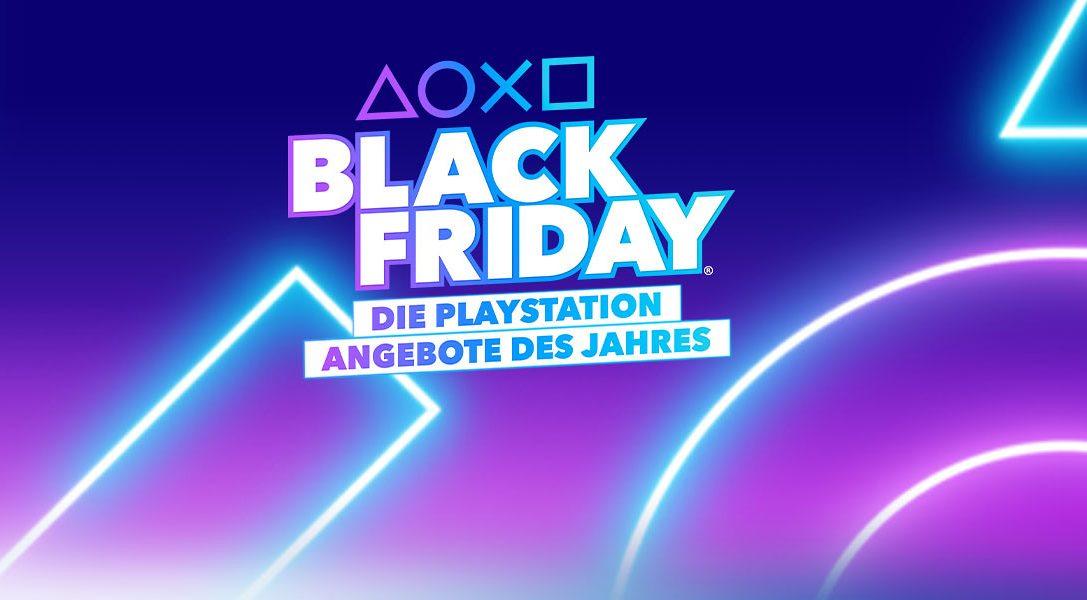 Die diesjährigen Black Friday®-Angebote von PlayStation sind da