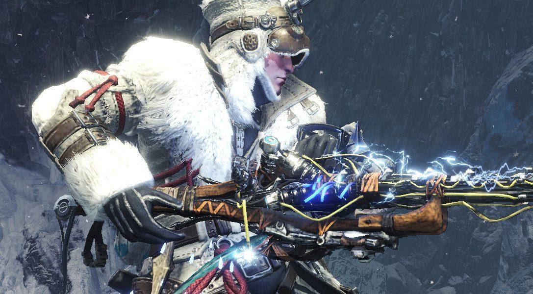 Neue Ausrüstung zu Horizon Zero Dawn: The Frozen Wilds erobert Monster Hunter World: Iceborne