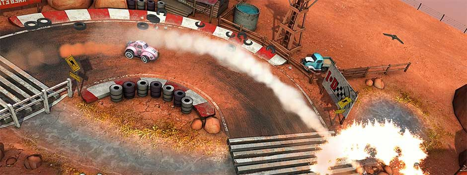 Vollgepackter Arcade-Nervenkitzel erwartet euch im kommenden Mini Motor Racing X auf PS4