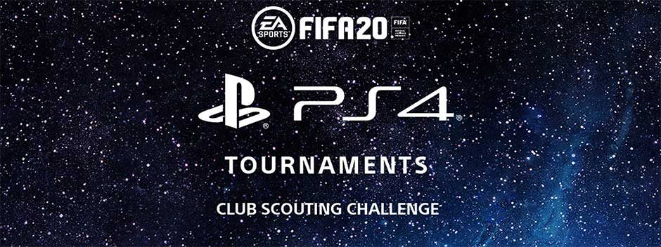 PS4 Turniere präsentiert: Die Club Scouting Challenge für FIFA 20