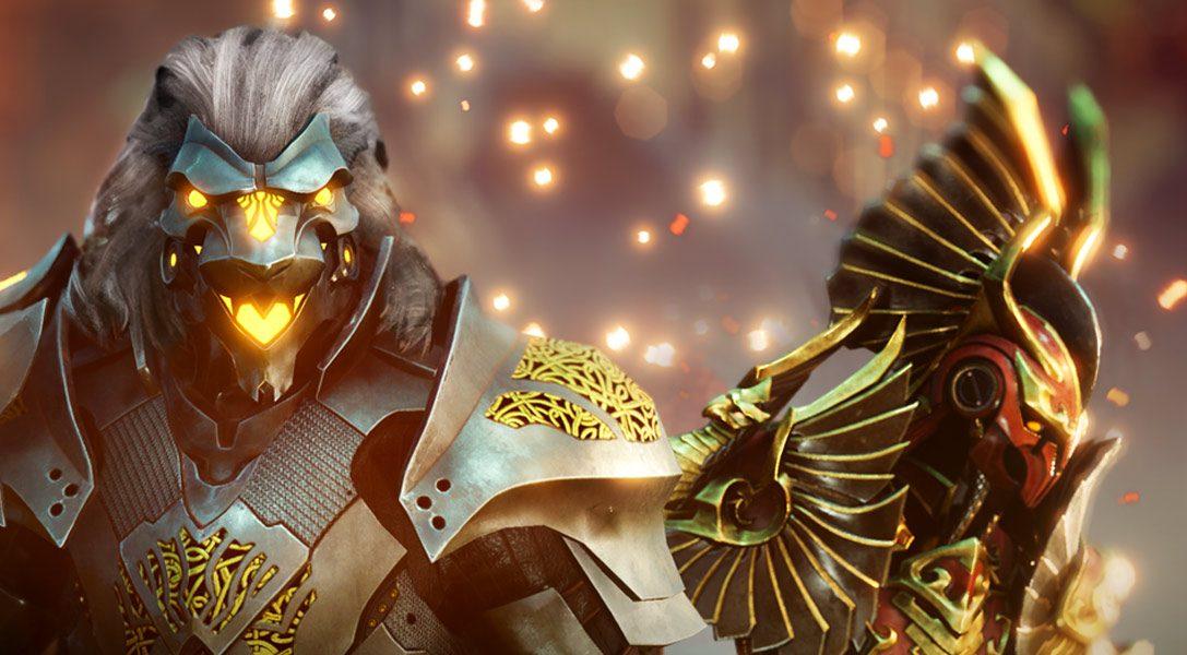 Godfall wurde für die PlayStation 5 angekündigt und soll die Looter-Slasher-Action auf die Konsole der nächsten Generation bringen