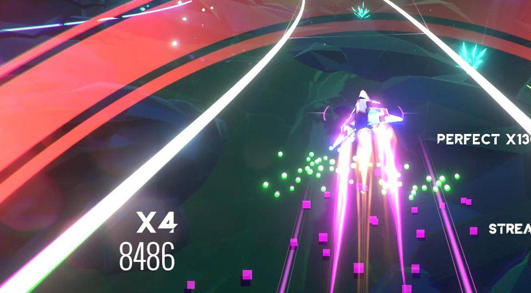 Das Rhythmus-Actionspiel AVICII Invector ist ab heute auf PS4 erhältlich