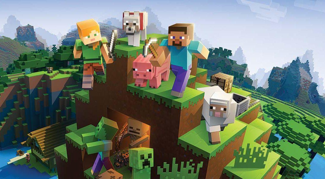 Das Bedrock-Update zu Minecraft bringt ab morgen Crossplay für PS4
