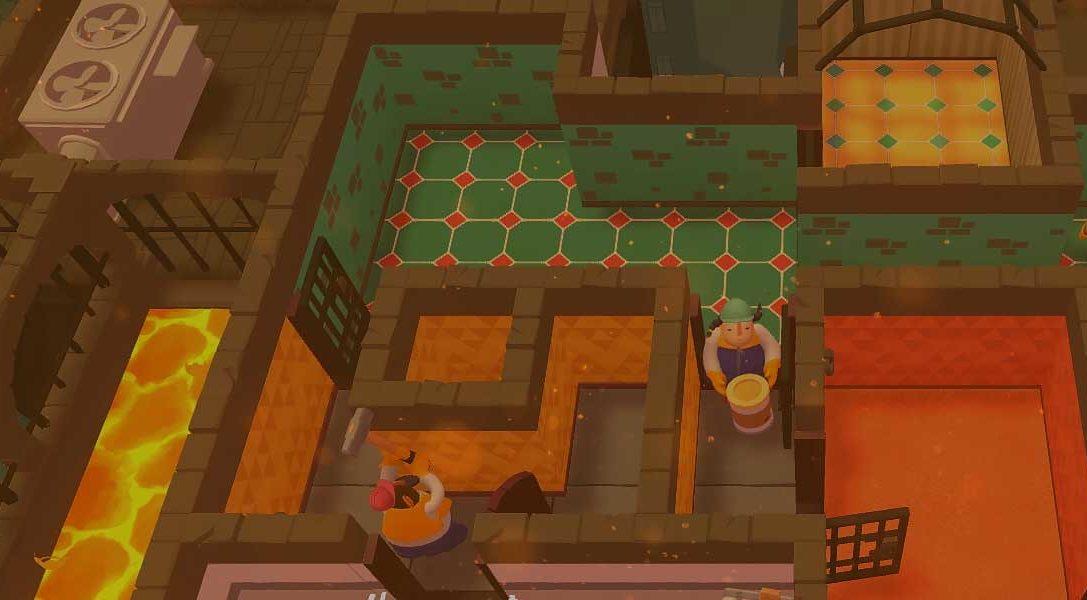 Renoviert Wohnungen im Couch-Koop-Party-Spiel Tools up!, das morgen auf PS4 erscheint