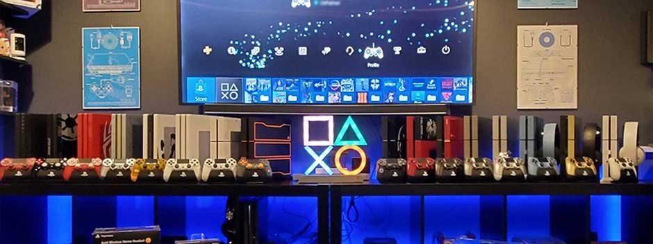 PlayStation Fans auf der ganzen Welt zeigen ihr PS4 Set Up