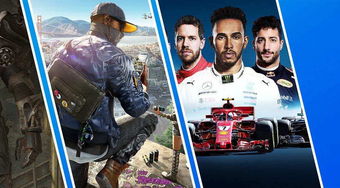 """Die PlayStation™Store-Aktion """"Spiele unter 20 Euro"""" beginnt heute"""
