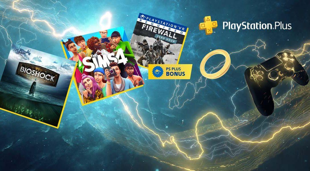 Kostenlose PS Plus-Spiele im Februar: BioShock: The Collection, Die Sims 4 und Firewall Zero Hour