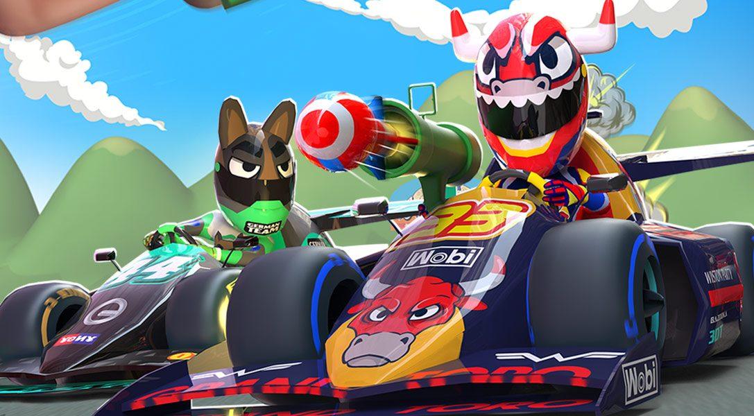 5 Gründe, warum der PSVR-kompatible Arcade-Racer Touring Karts auf der PS4 am besten ist