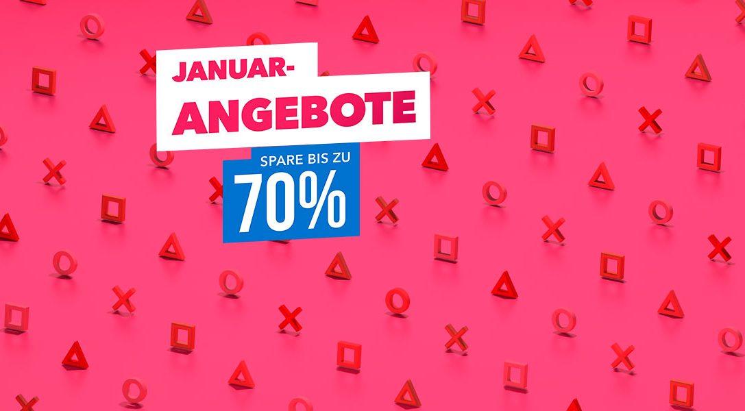 Januar-Angebote – Neue Angebote unter €20