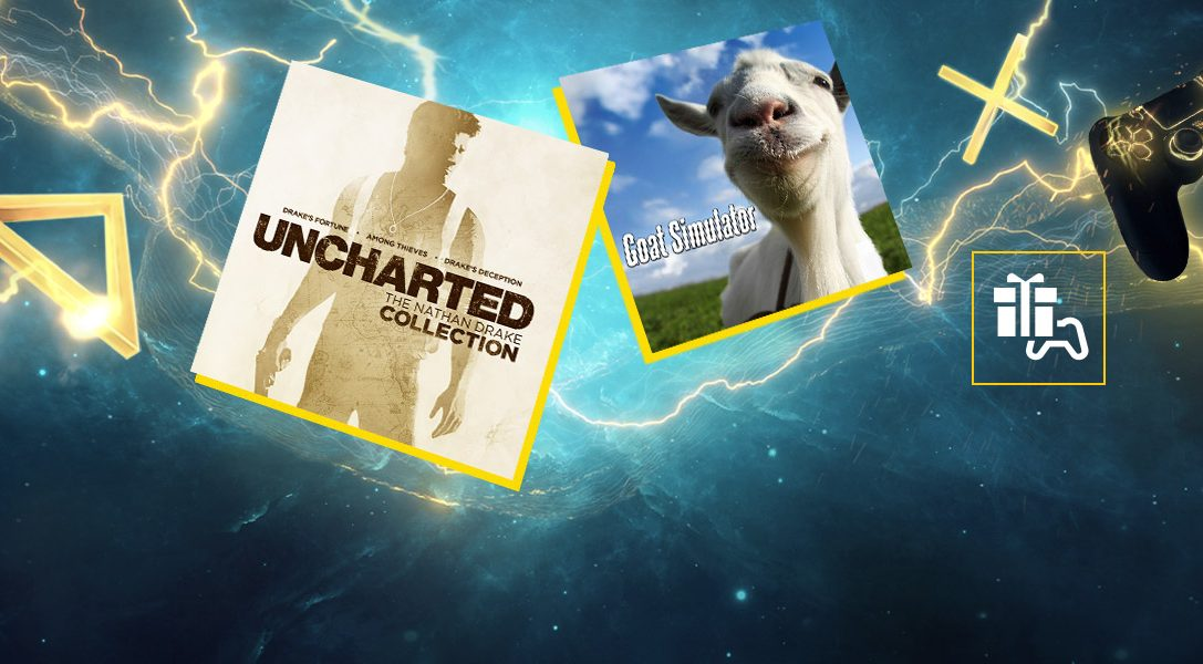 Kostenlose PS Plus-Spiele im Januar: Uncharted: The Nathan Drake Collection und Goat Simulator
