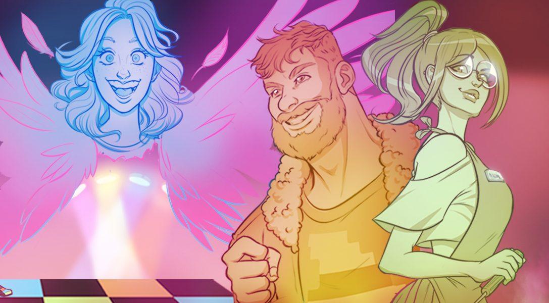 Findet Freunde und die wahre Liebe in der lebhaften Gaming-Community der Visual Novel Arcade Spirits