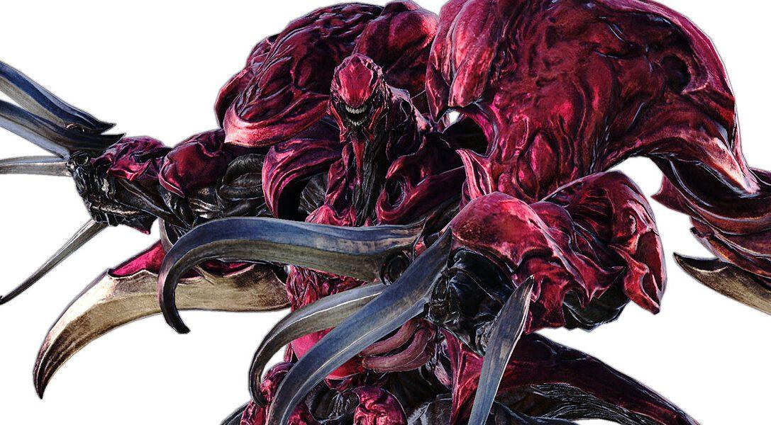 Neuinterpretation von Ruby Weapon aus FFVII für Final Fantasy XIV
