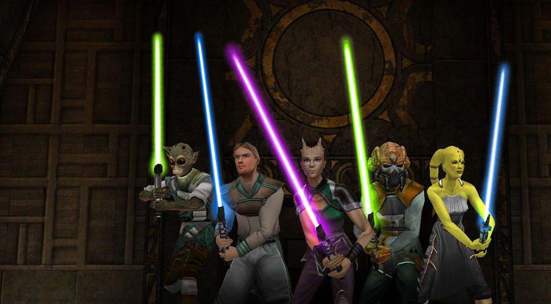 Star Wars Jedi Knight: Jedi Academy erscheint heute für PlayStation 4